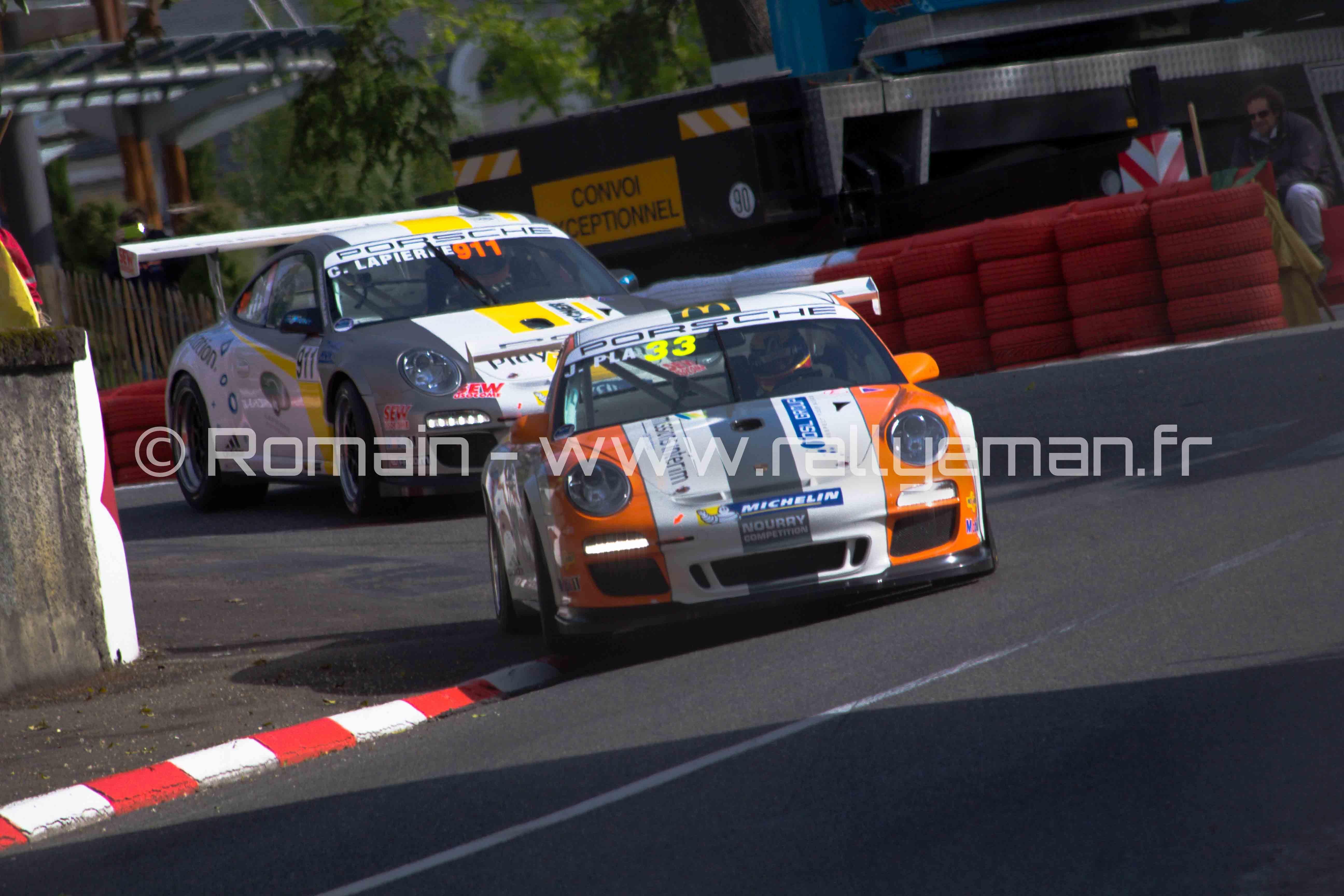 Porsche carrera cup - Pau 2013